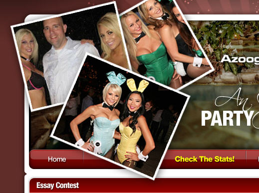 Azoogle Ads Contest PlayBoy Mansion 2010