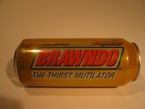 Real can of Brawndo - The Thirst Mutilator - It's got electolytes!