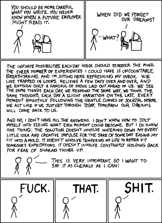 XKCD Dreams