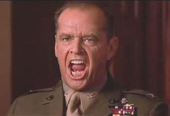 Jack Nicholson A Few Good Men You can't Handle the Truth